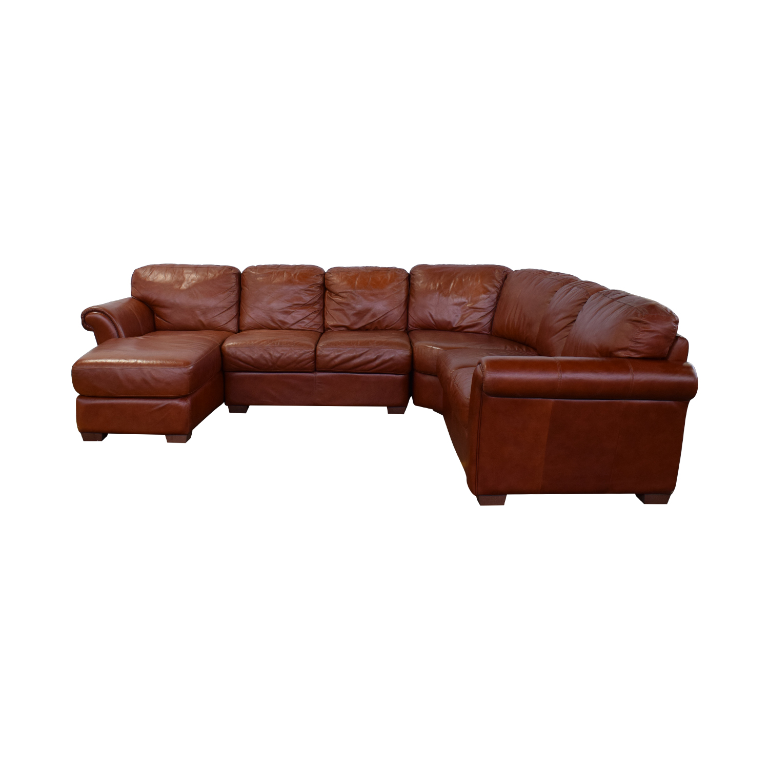 Chateau d'Ax Chateau d'Ax Leather Sectional nyc