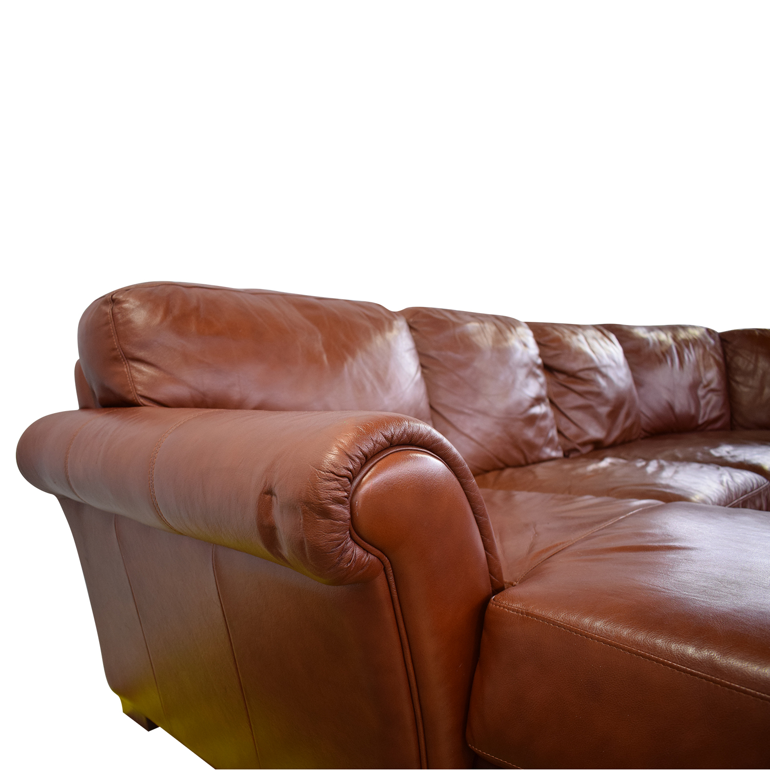 buy Chateau d'Ax Leather Sectional Chateau d'Ax Sectionals