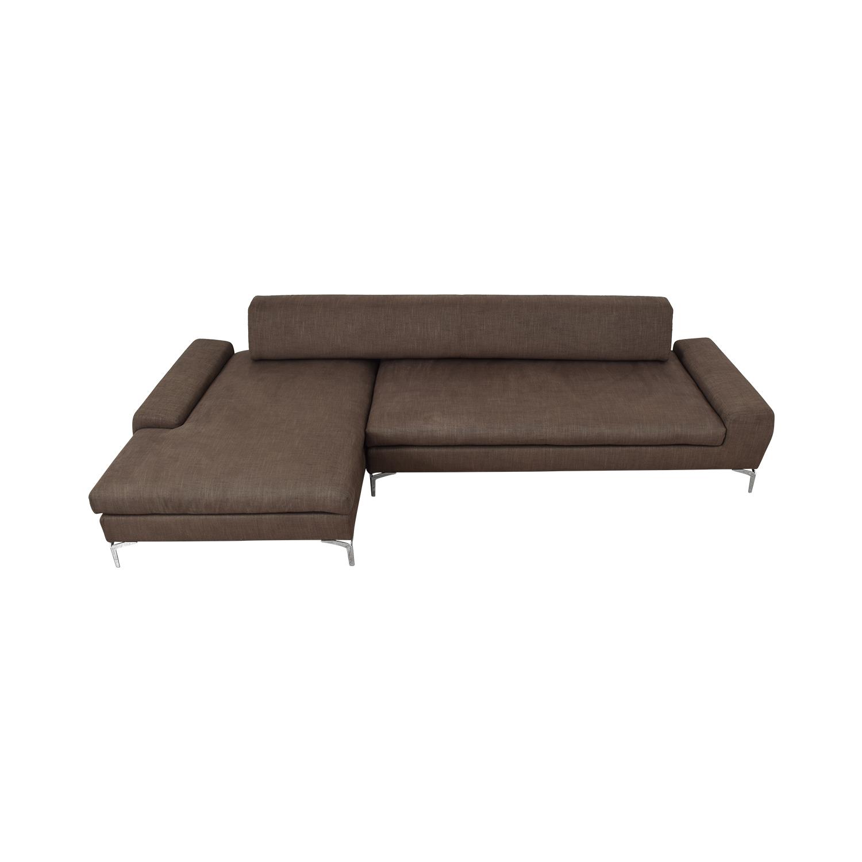 Molteni Modern Sectional Sofa Molteni