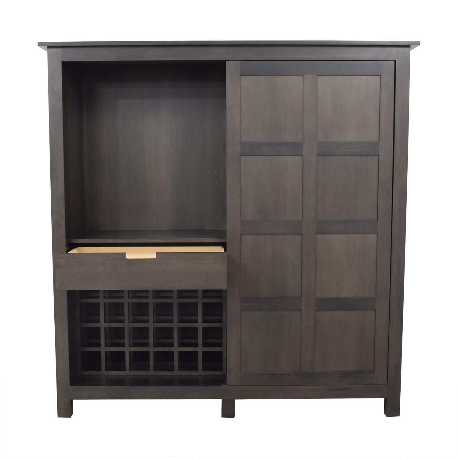 Room & Board Room & Board Bennett Armoire with Wine Rack & Four Drawers dimensions