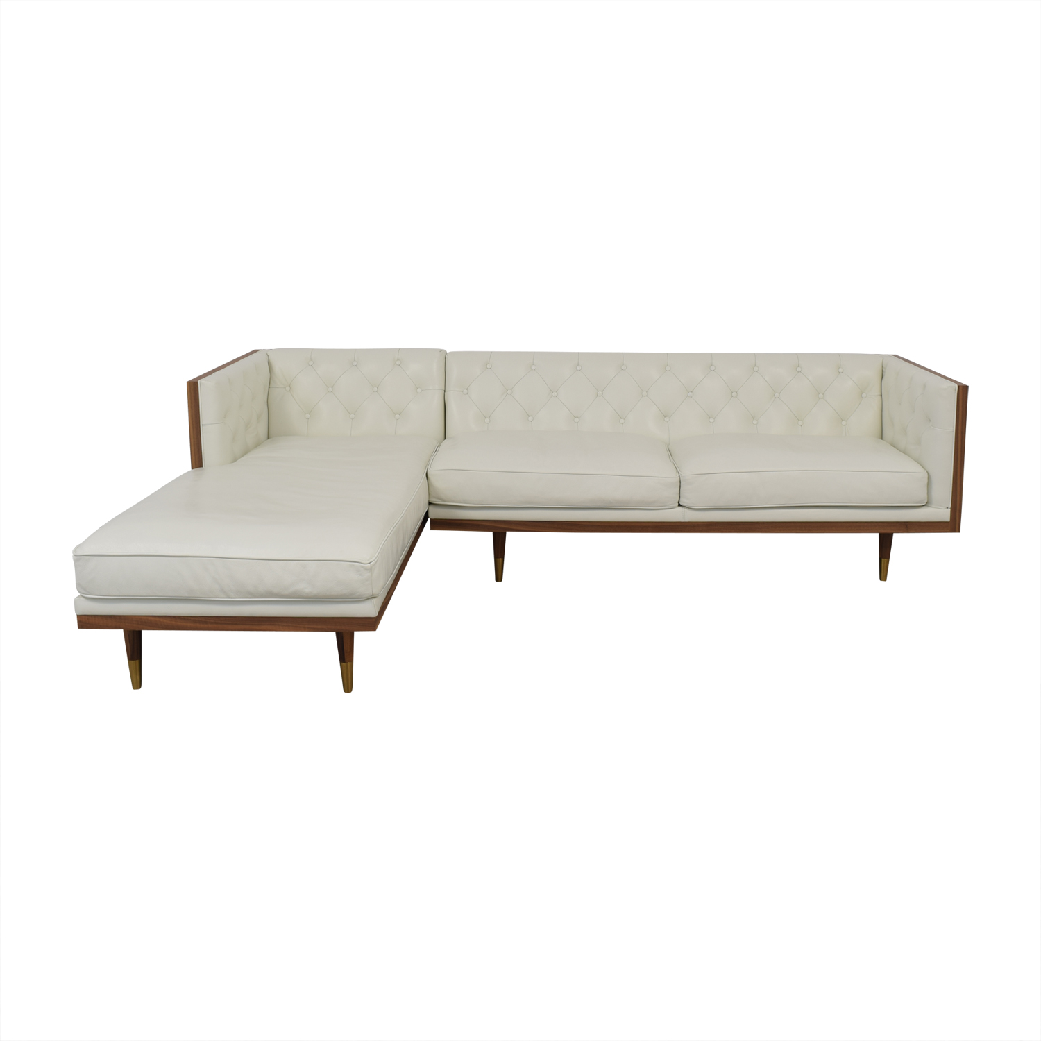 shop Kardiel Woodrow Neo Sectional Sofa Kardiel Sofas