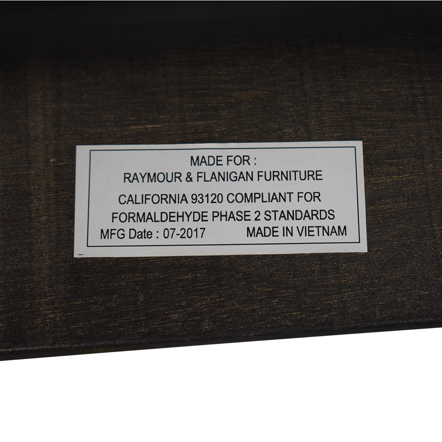 Raymour & Flanigan Raymour and Flanigan Brennan Coffee Table discount