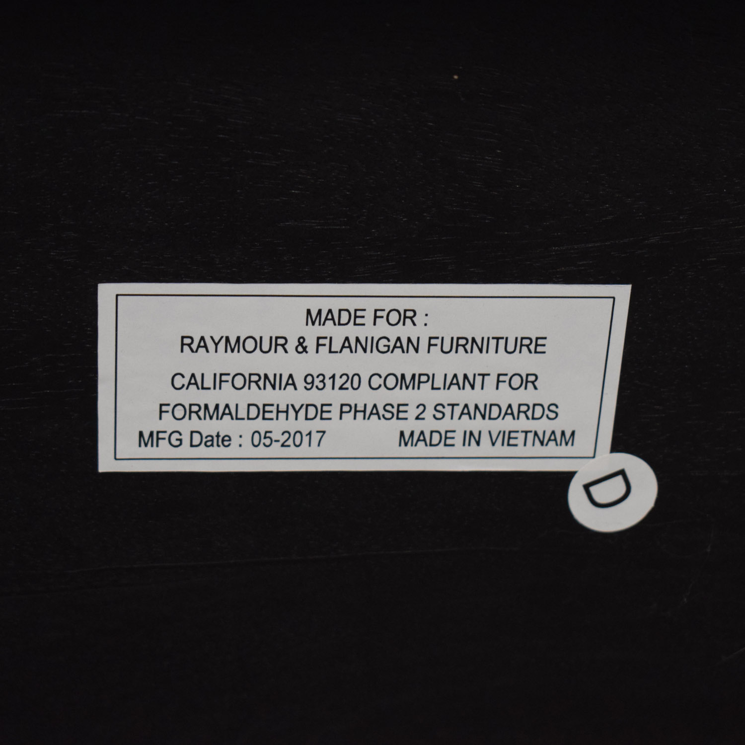 Raymour & Flanigan Raymour & Flanigan Brennan Sofa Table dimensions