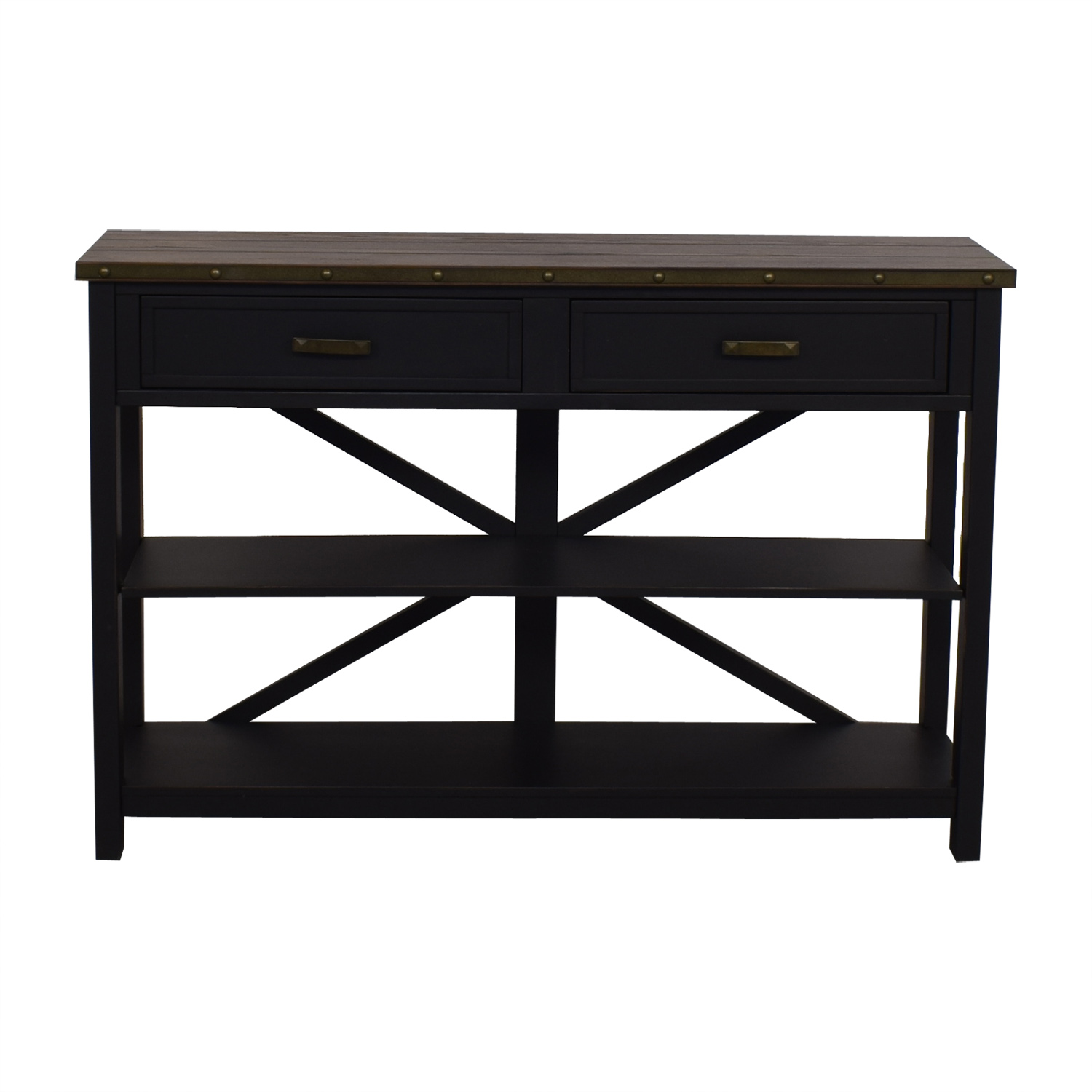 Raymour & Flanigan Raymour & Flanigan Brennan Sofa Table discount