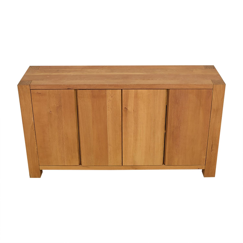 shop Crate & Barrel Big Sur Sideboard Crate & Barrel Cabinets & Sideboards