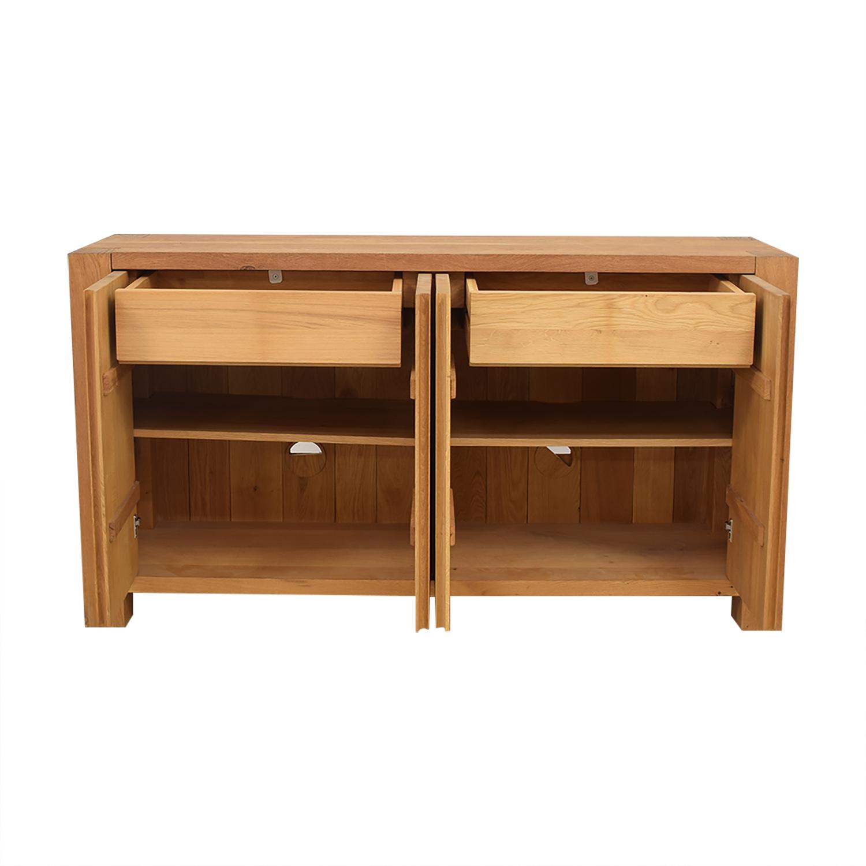 buy Crate & Barrel Big Sur Sideboard Crate & Barrel Cabinets & Sideboards