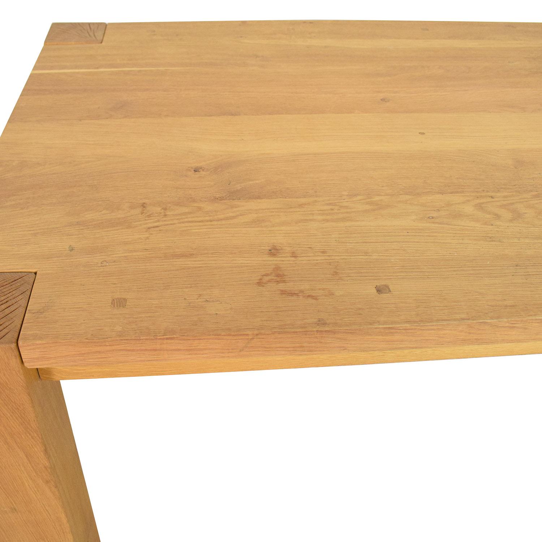 Crate & Barrel Crate & Barrel Big Sur Dining Table used