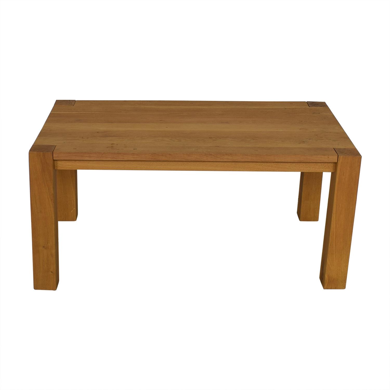 buy Crate & Barrel Big Sur Dining Table Crate & Barrel