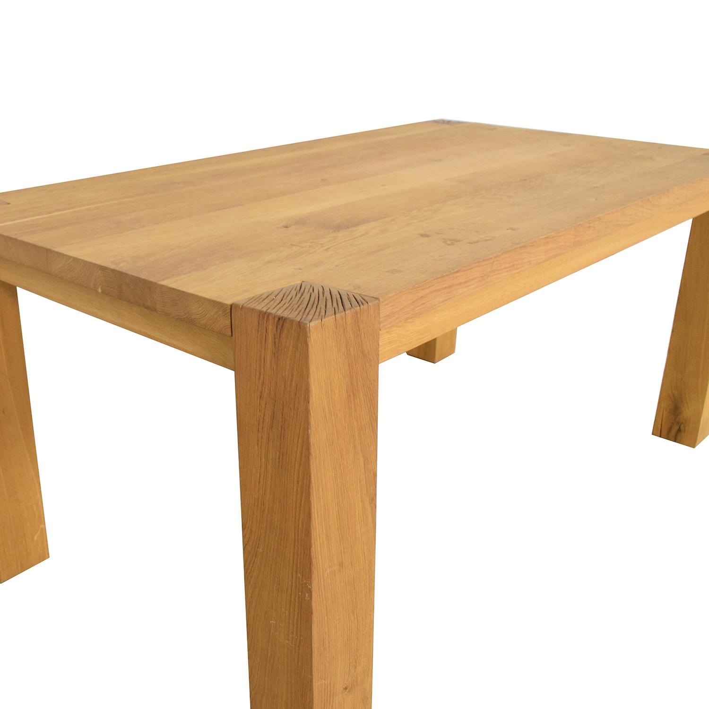 Crate & Barrel Crate & Barrel Big Sur Dining Table Tables