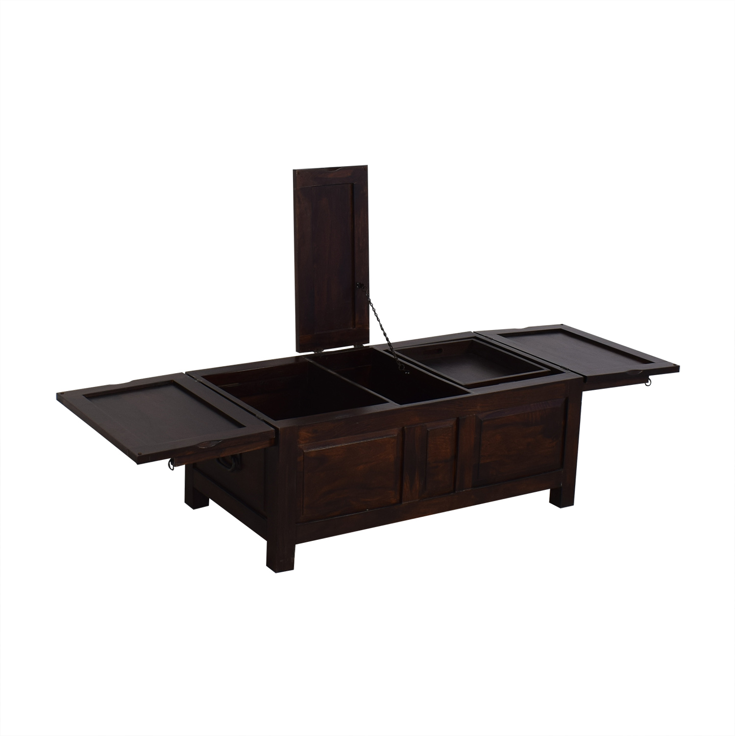 Crate and Barrel Trunk Table / Trunks