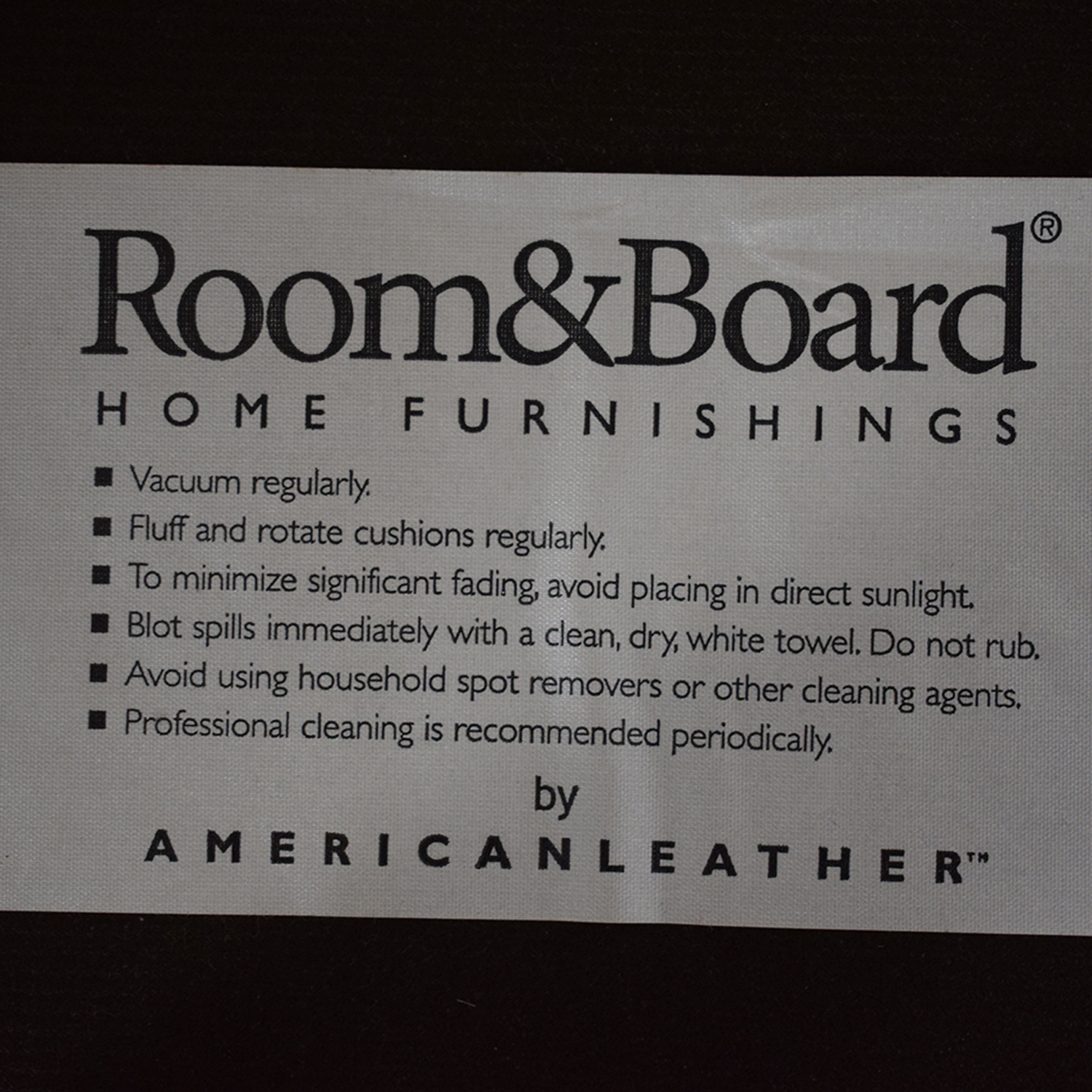 Room & Board Anson Chair / Accent Chairs