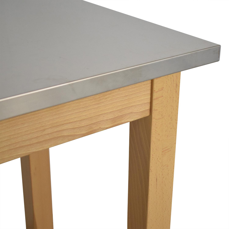 buy Restoration Hardware Rectangular Side Table Restoration Hardware