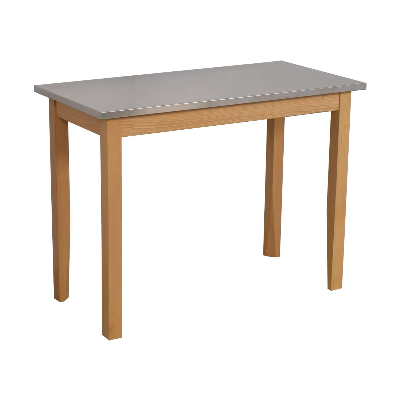 shop Restoration Hardware Rectangular Side Table Restoration Hardware Tables