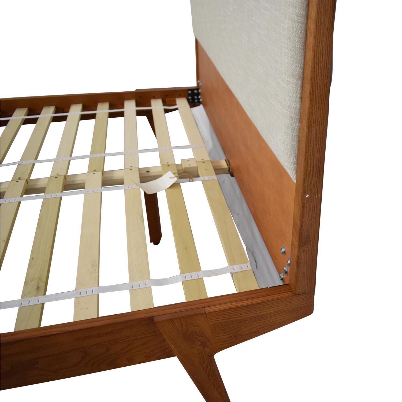 West Elm Modern Queen Bed sale
