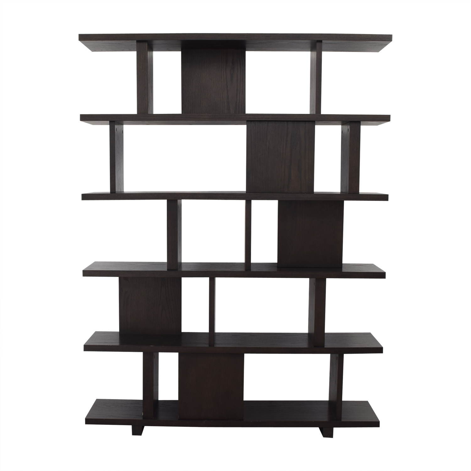 buy Modern Room Divider Bookshelf  Bookcases & Shelving