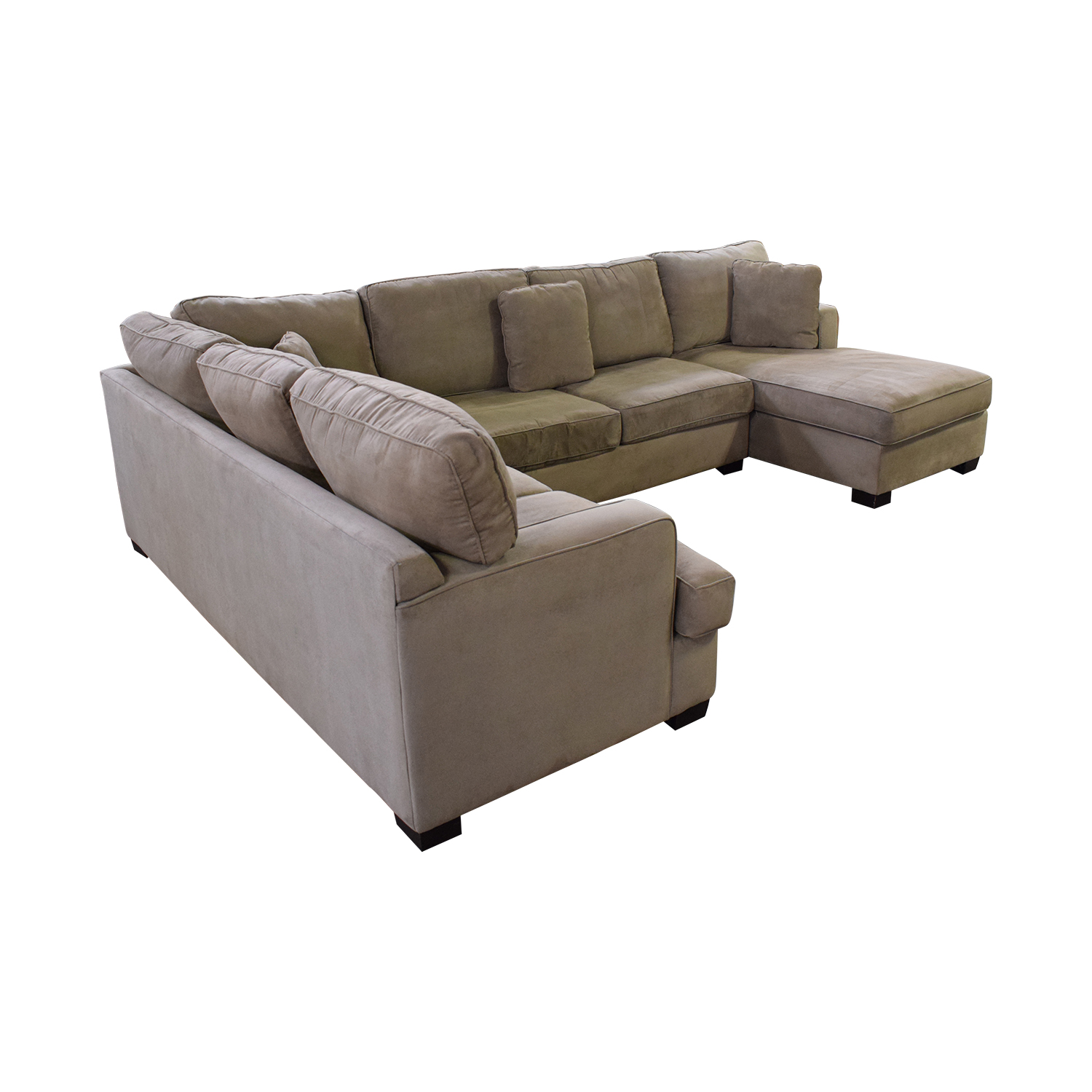 shop Bloomingdale's Sectional Sofa with Chaise Bloomingdale's Sofas