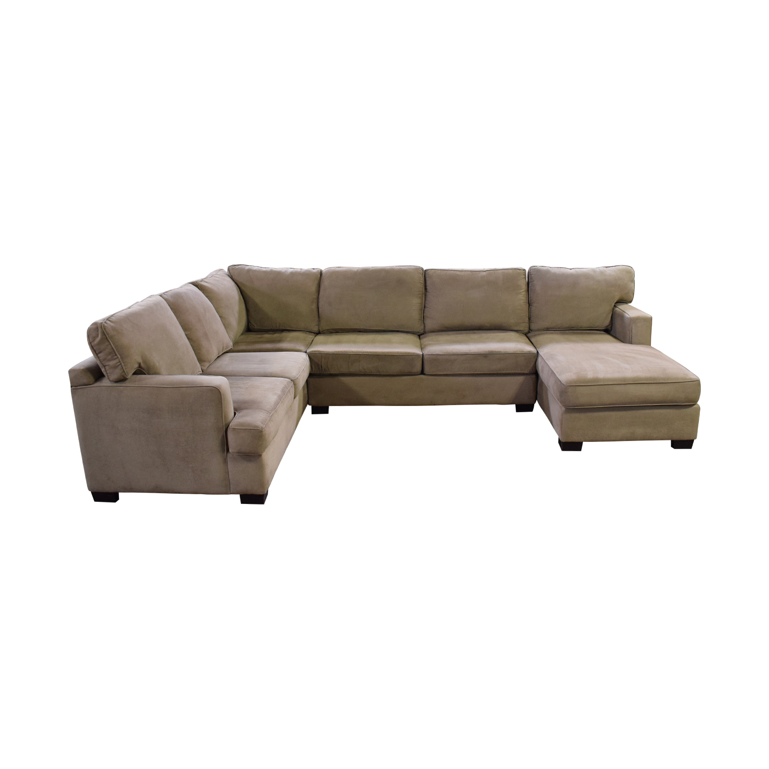 68 Off Bloomingdale S Sectional Sofa With Chaise Sofas
