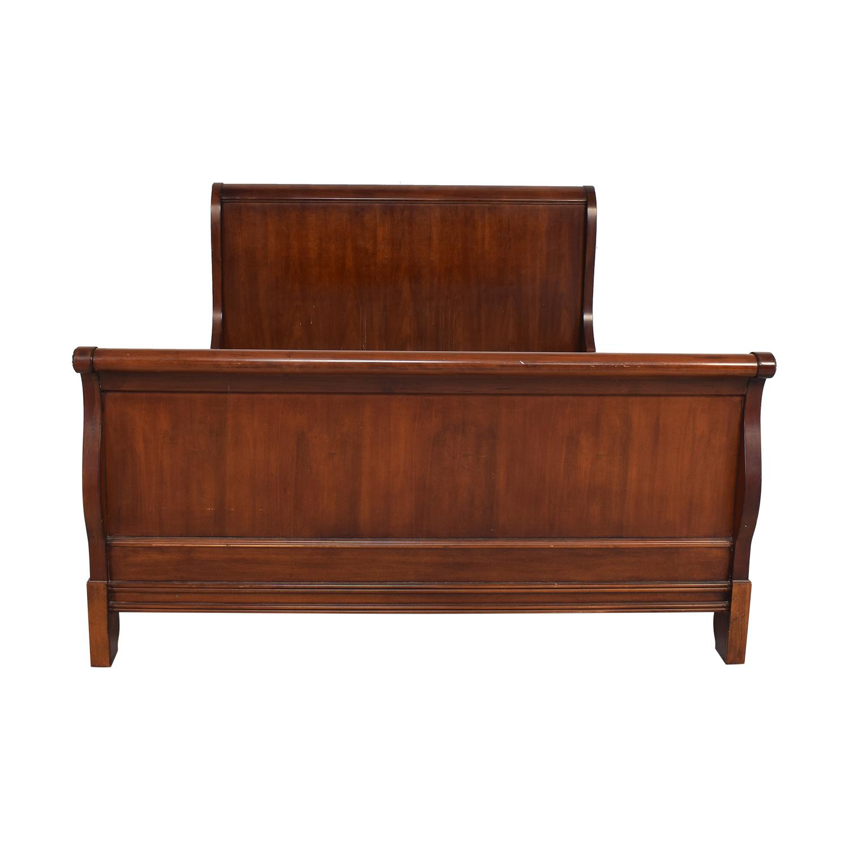 shop Drexel Heritage Queen Sleigh Bed Frame Drexel Heritage Beds