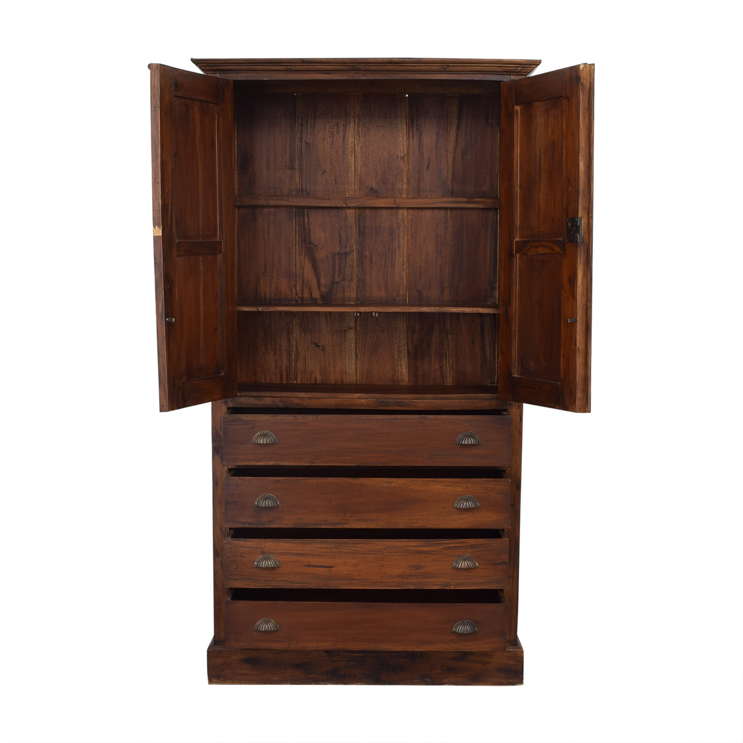 Four Drawer Armoire second hand