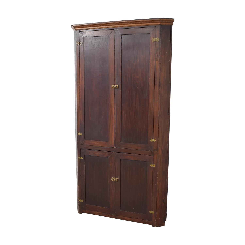 Four Door Corner Armoire nj