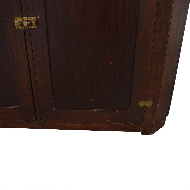 shop Four Door Corner Armoire  Wardrobes & Armoires