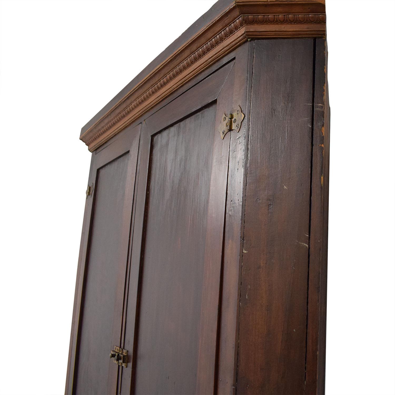 Four Door Corner Armoire for sale