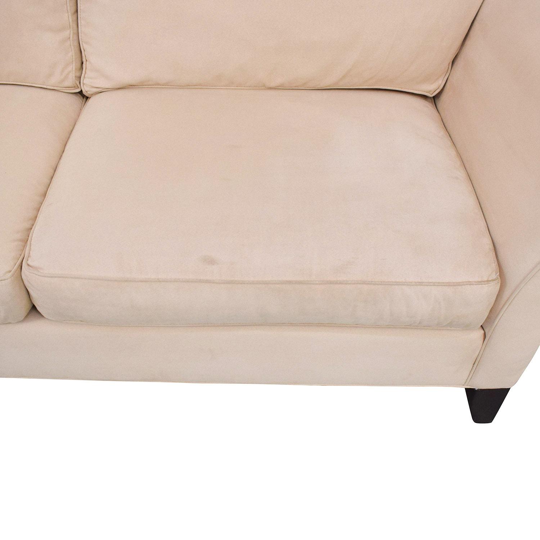 Ethan Allen Ethan Allen Roll Arm Sofa discount