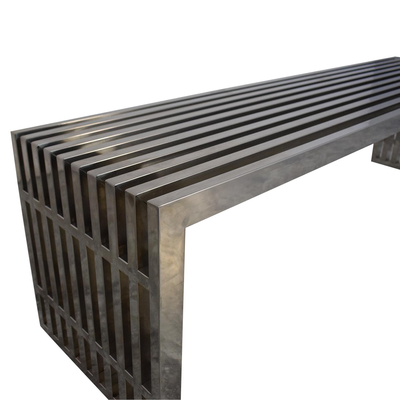 LexMod LexMod Gridiron Large Bench ct