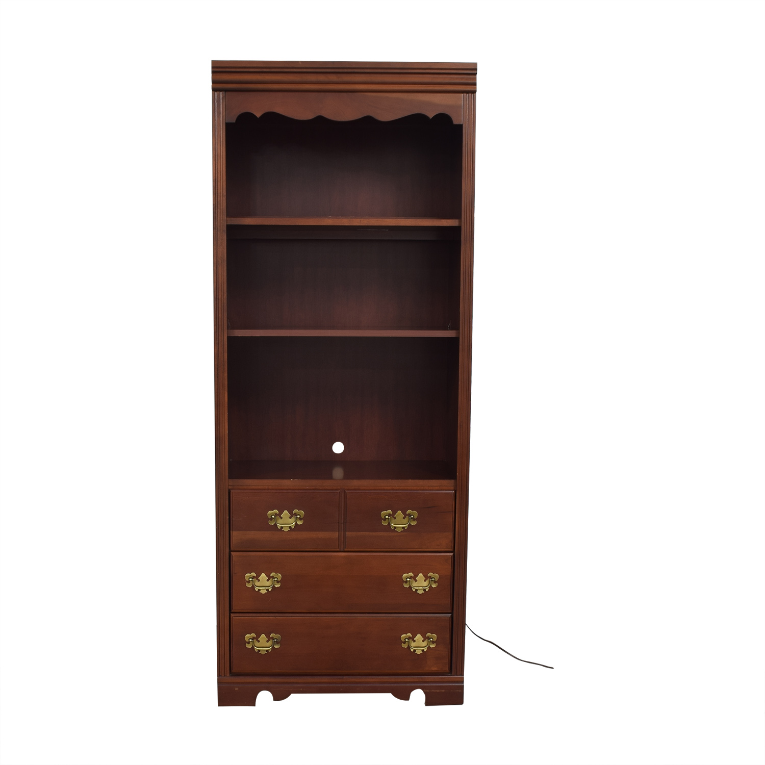 Broyhill Furniture Broyhill Book Case with Light nyc