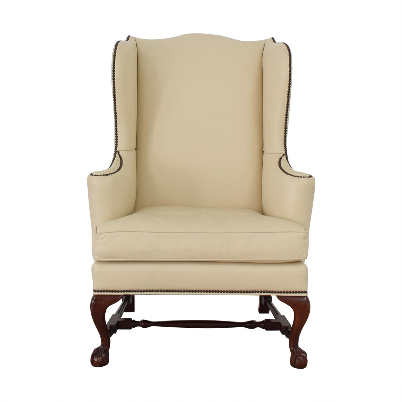 Baker Furniture Baker Upholstered Armchair used