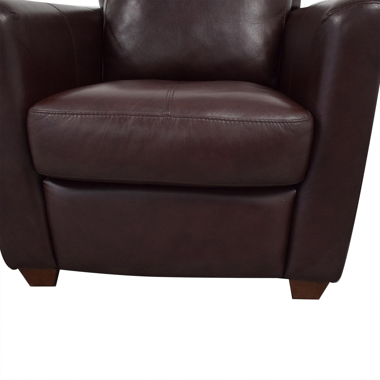 Enjoyable 70 Off Chateau Dax Macys Modern Club Chair Chairs Inzonedesignstudio Interior Chair Design Inzonedesignstudiocom