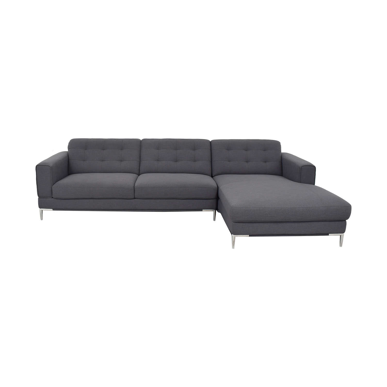 Modani Modani Sectional Sofa with Chaise discount