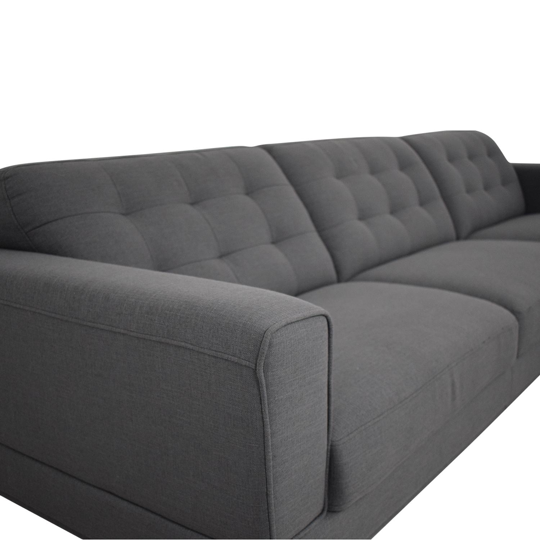 Modani Modani Sectional Sofa with Chaise used