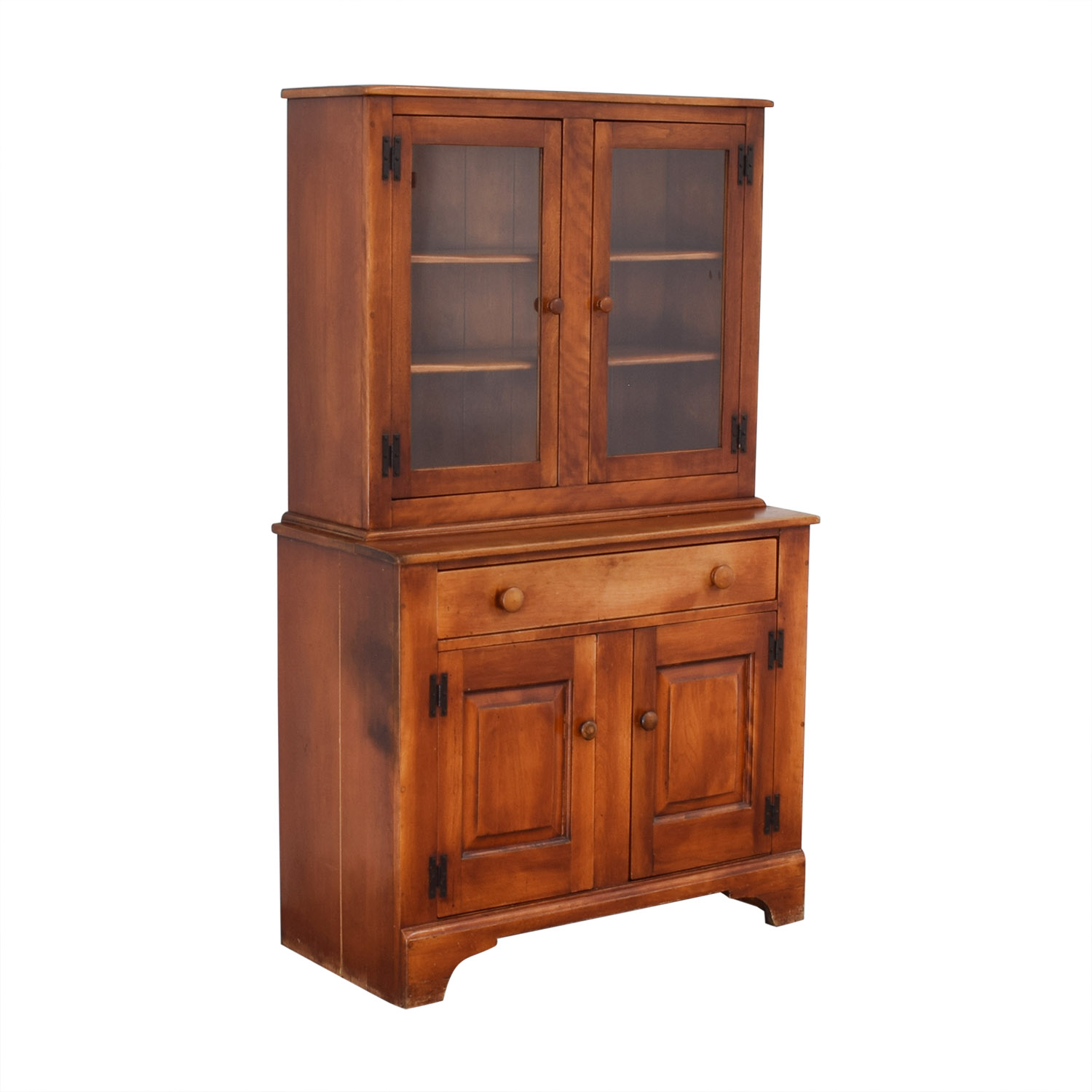 Cushman Colonial Cushman Colonial China Cabinet with Hutch ct