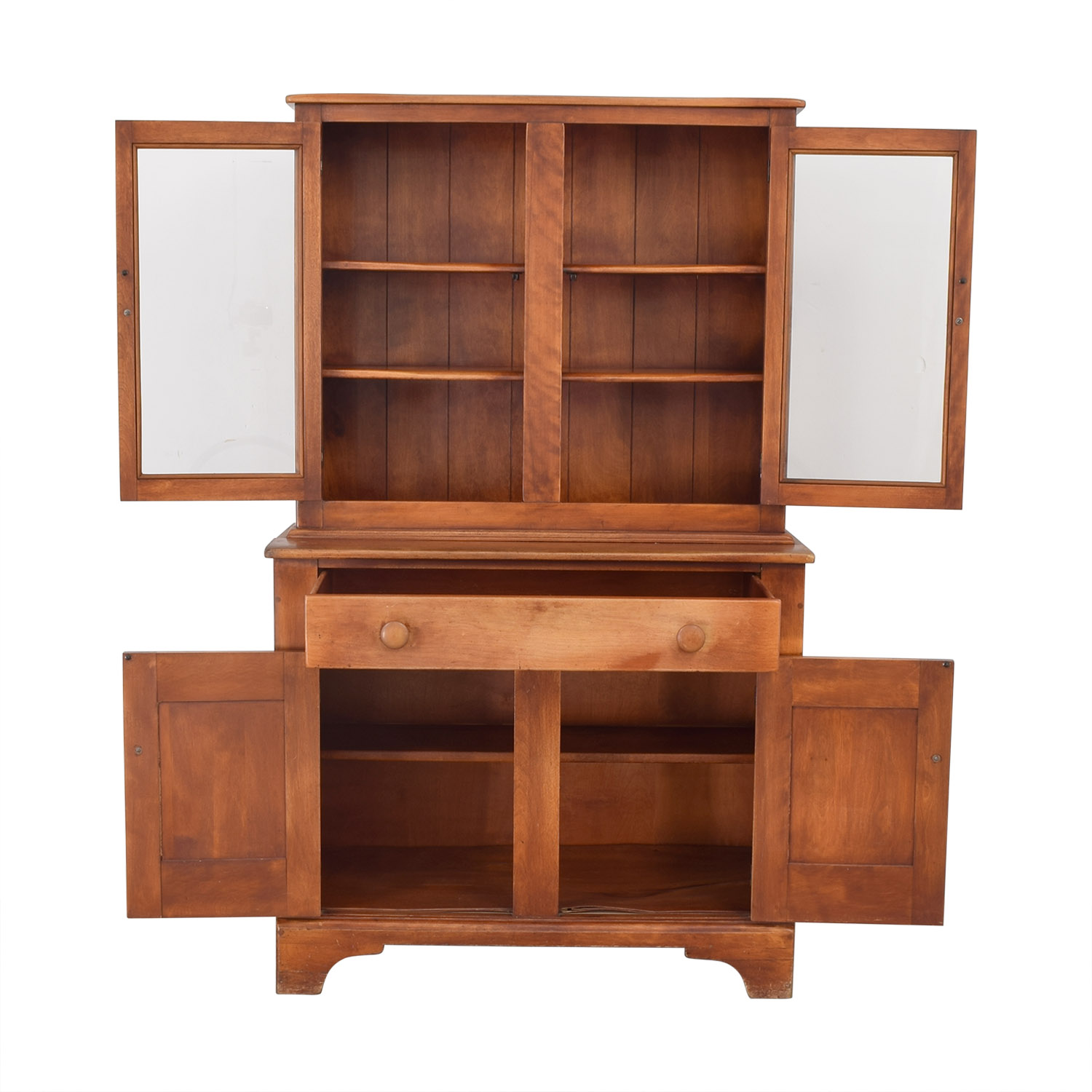shop Cushman Colonial Cushman Colonial China Cabinet with Hutch online