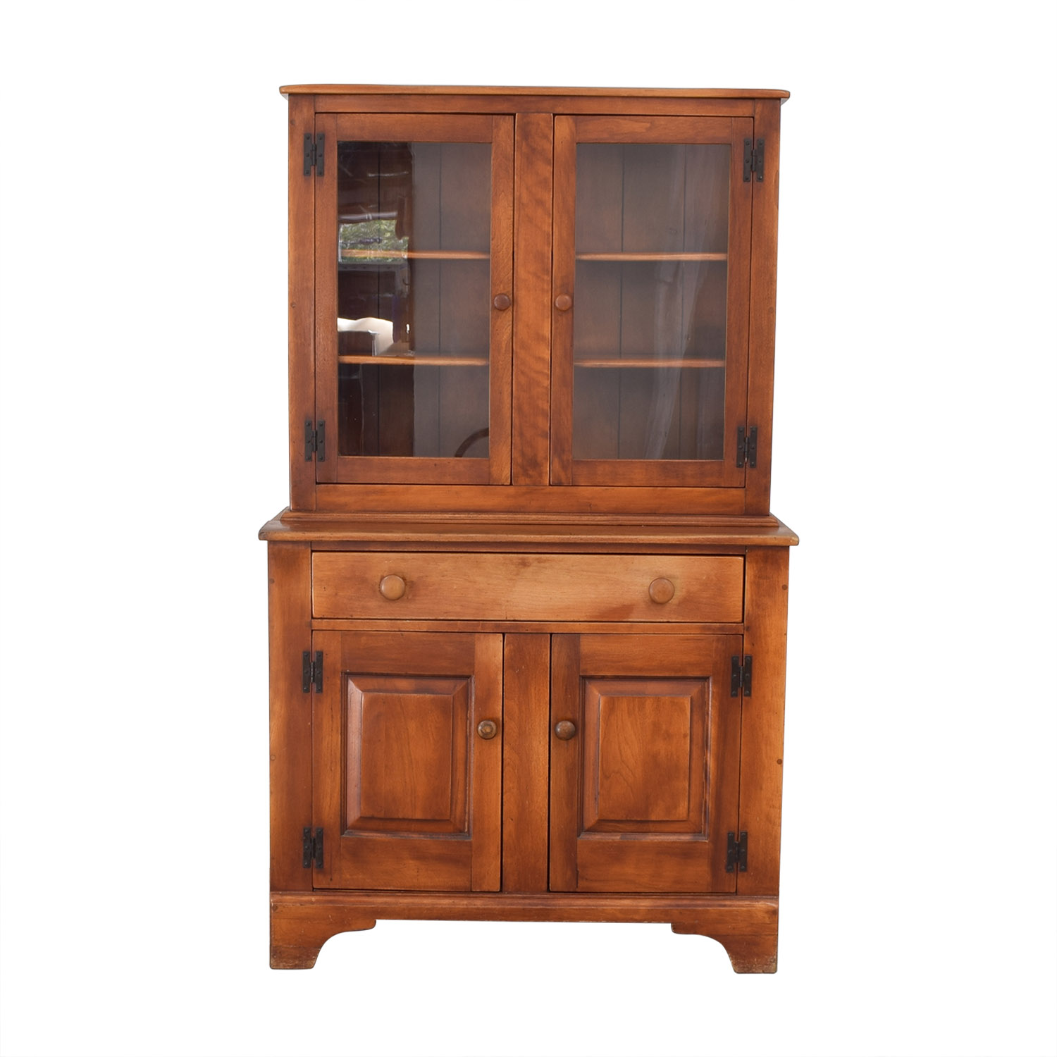 shop Cushman Colonial China Cabinet with Hutch Cushman Colonial Storage
