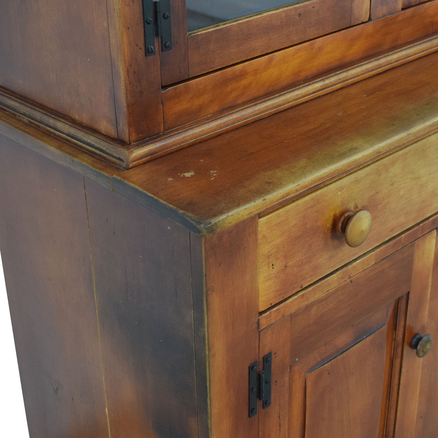Cushman Colonial China Cabinet with Hutch sale