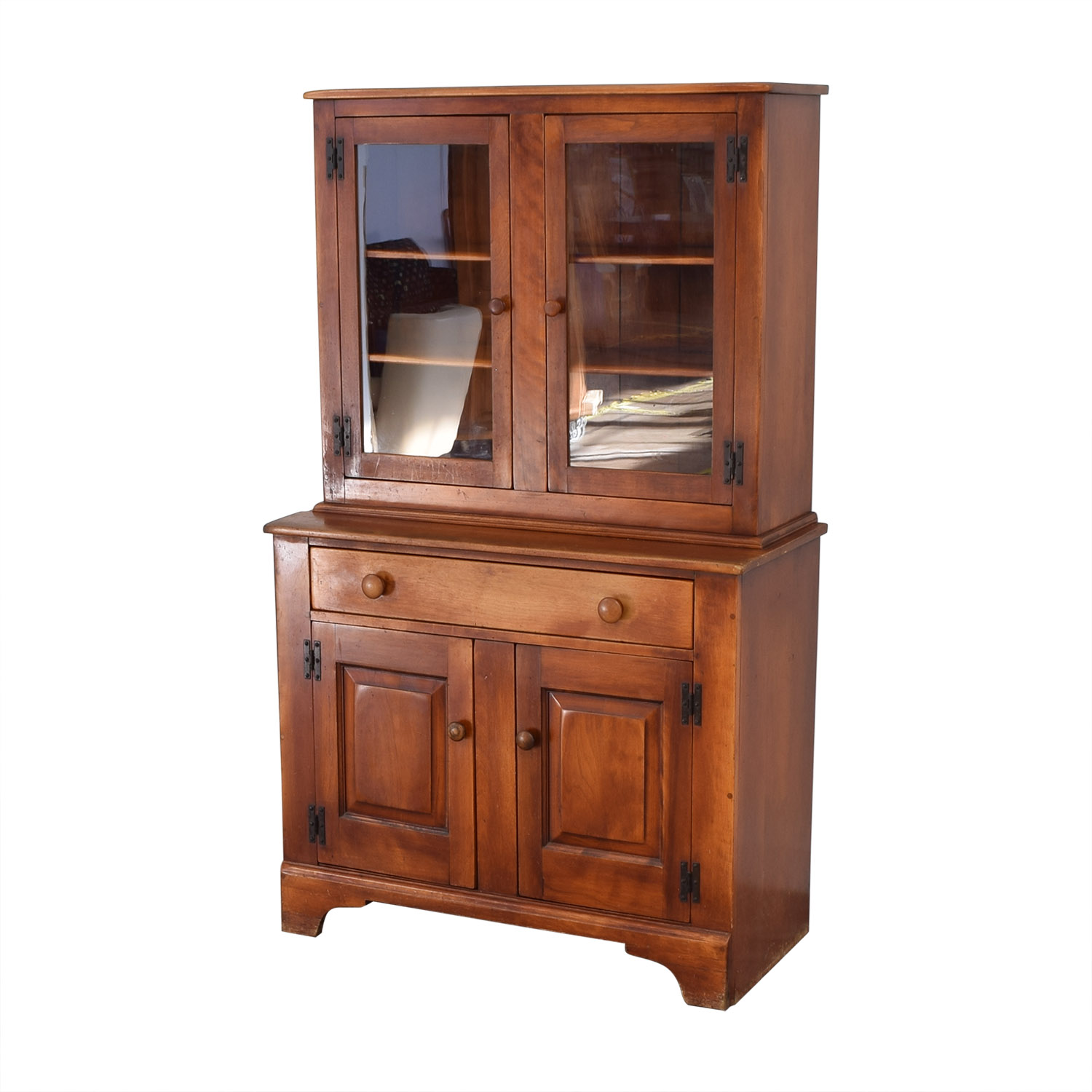 Cushman Colonial China Cabinet with Hutch / Storage