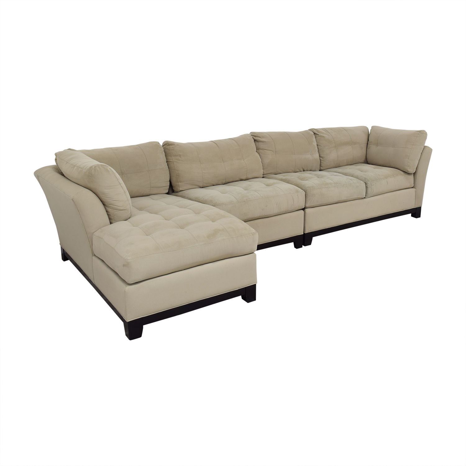 buy Cindy Crawford Home Metropolis Three Piece Sectional Sofa Cindy Crawford Home Sectionals