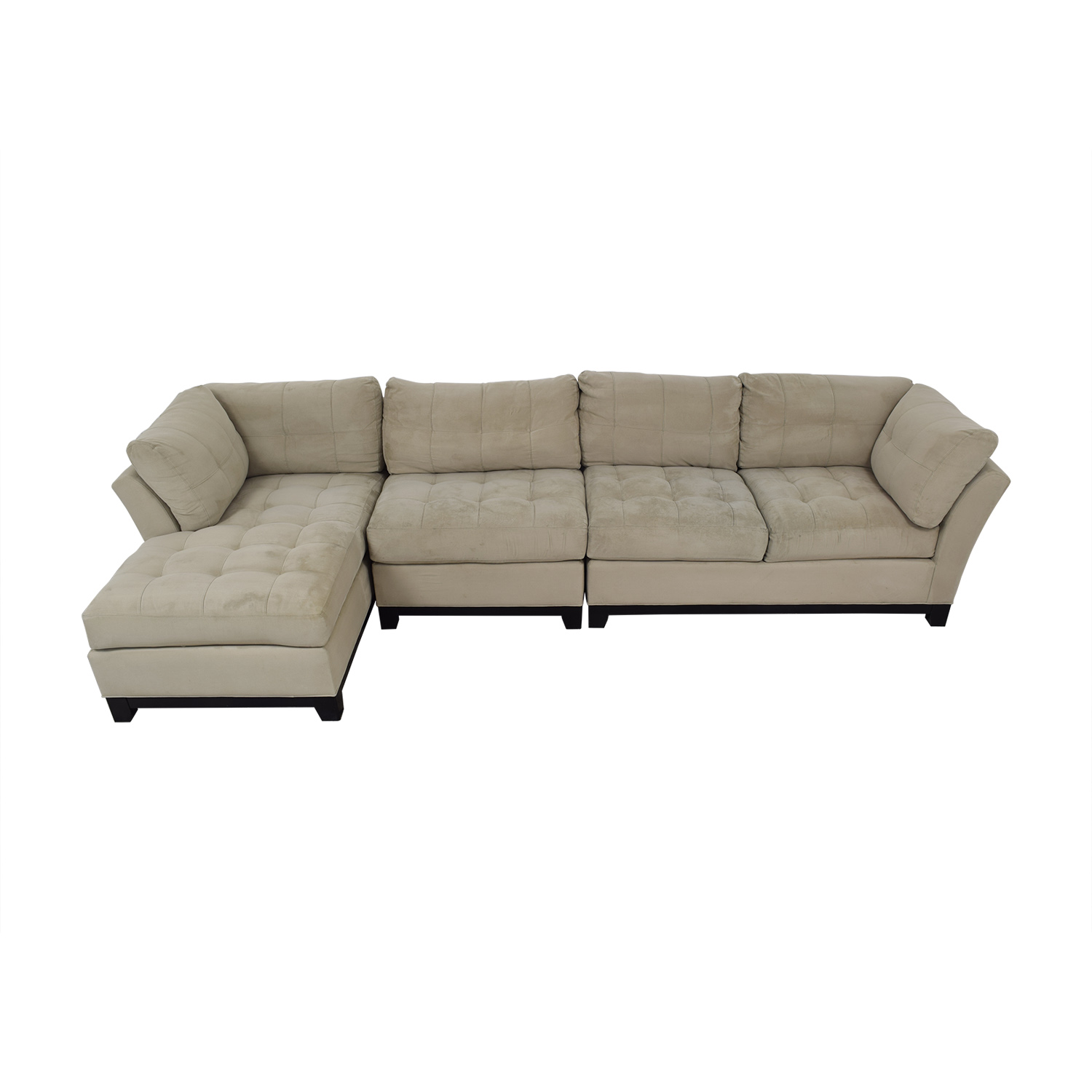 Cindy Crawford Home Metropolis Three Piece Sectional Sofa / Sofas