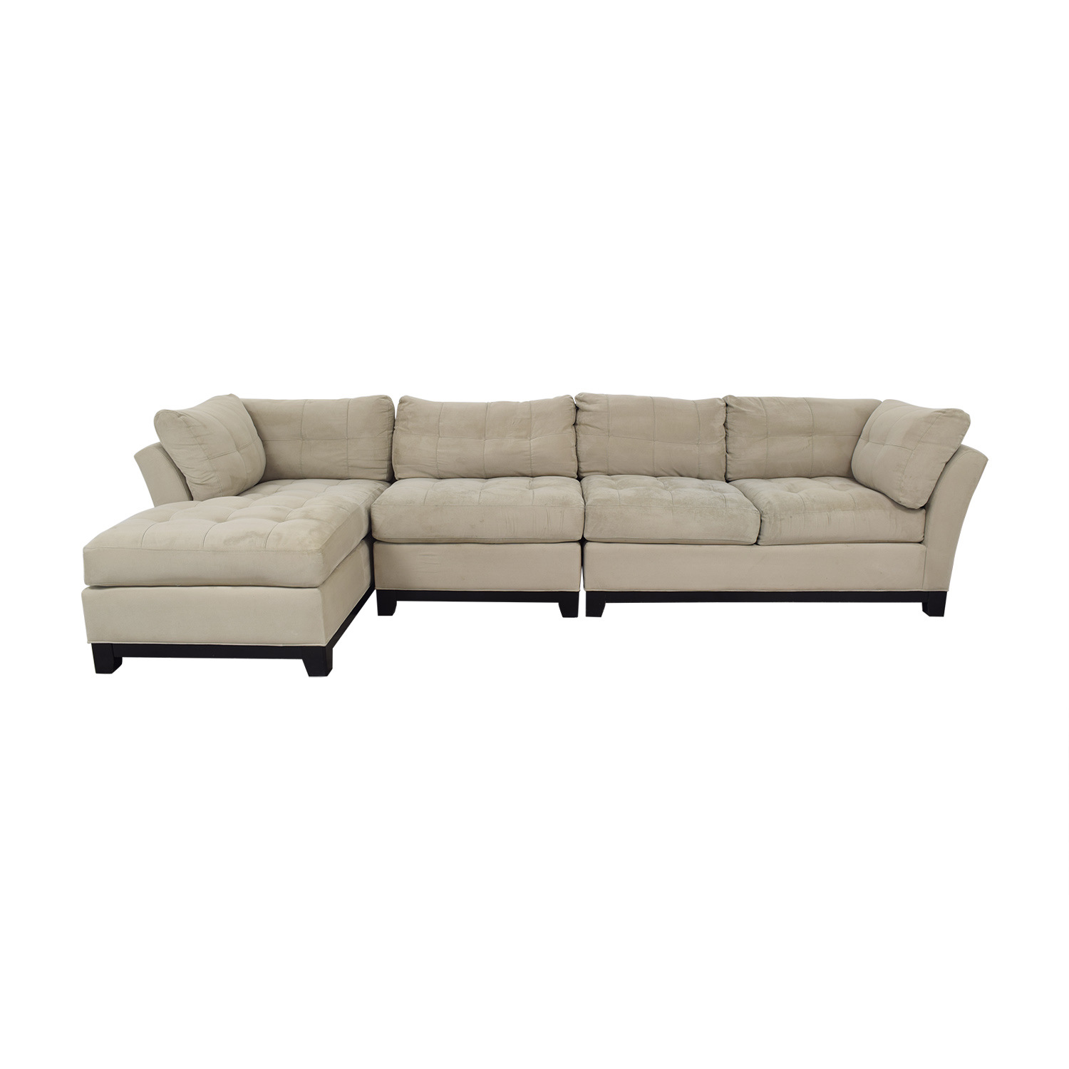 53 Off W Schillig W Schillig Leather Sectional And