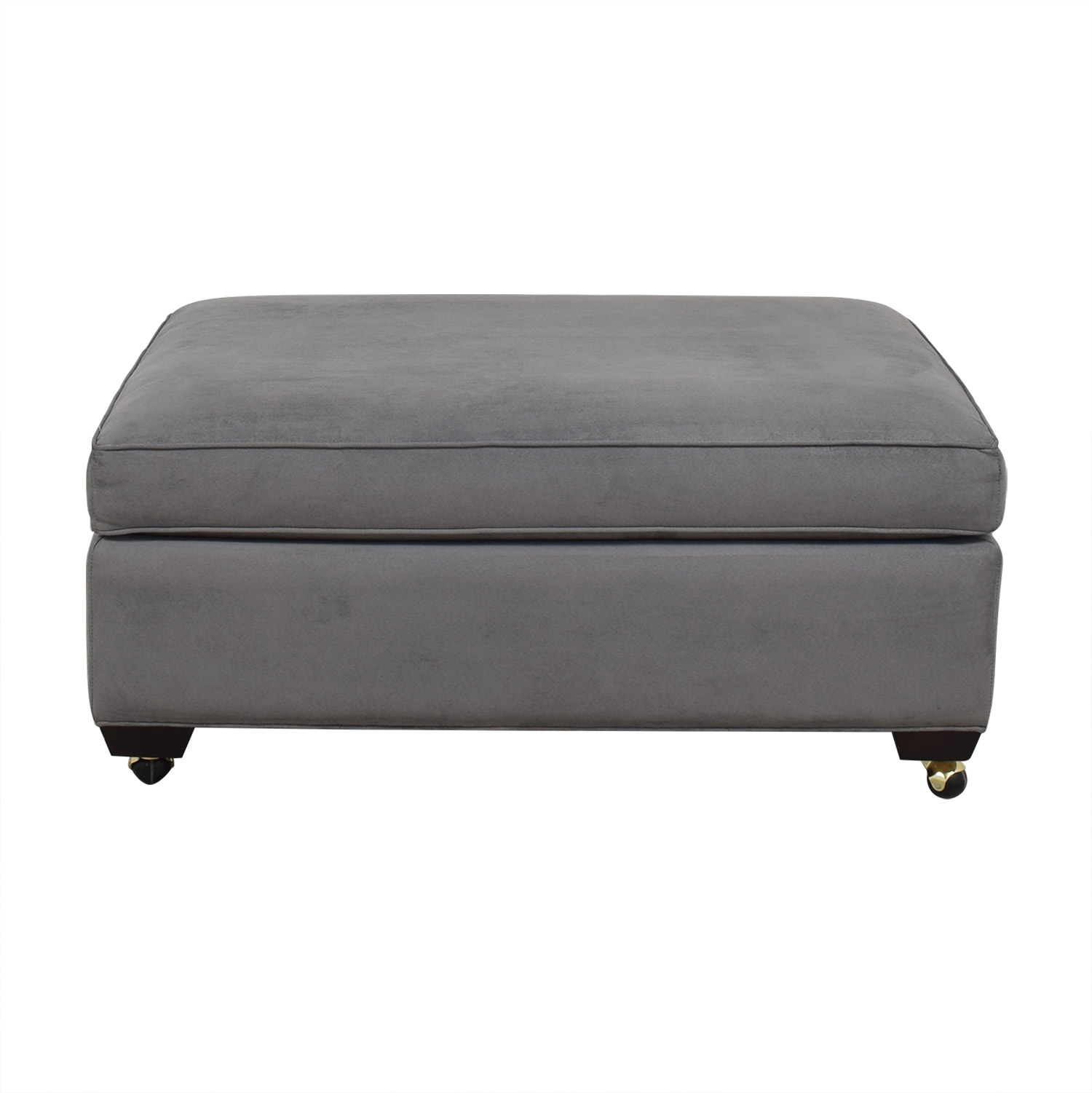 Crate & Barrel Crate & Barrel Davis Ottoman nj