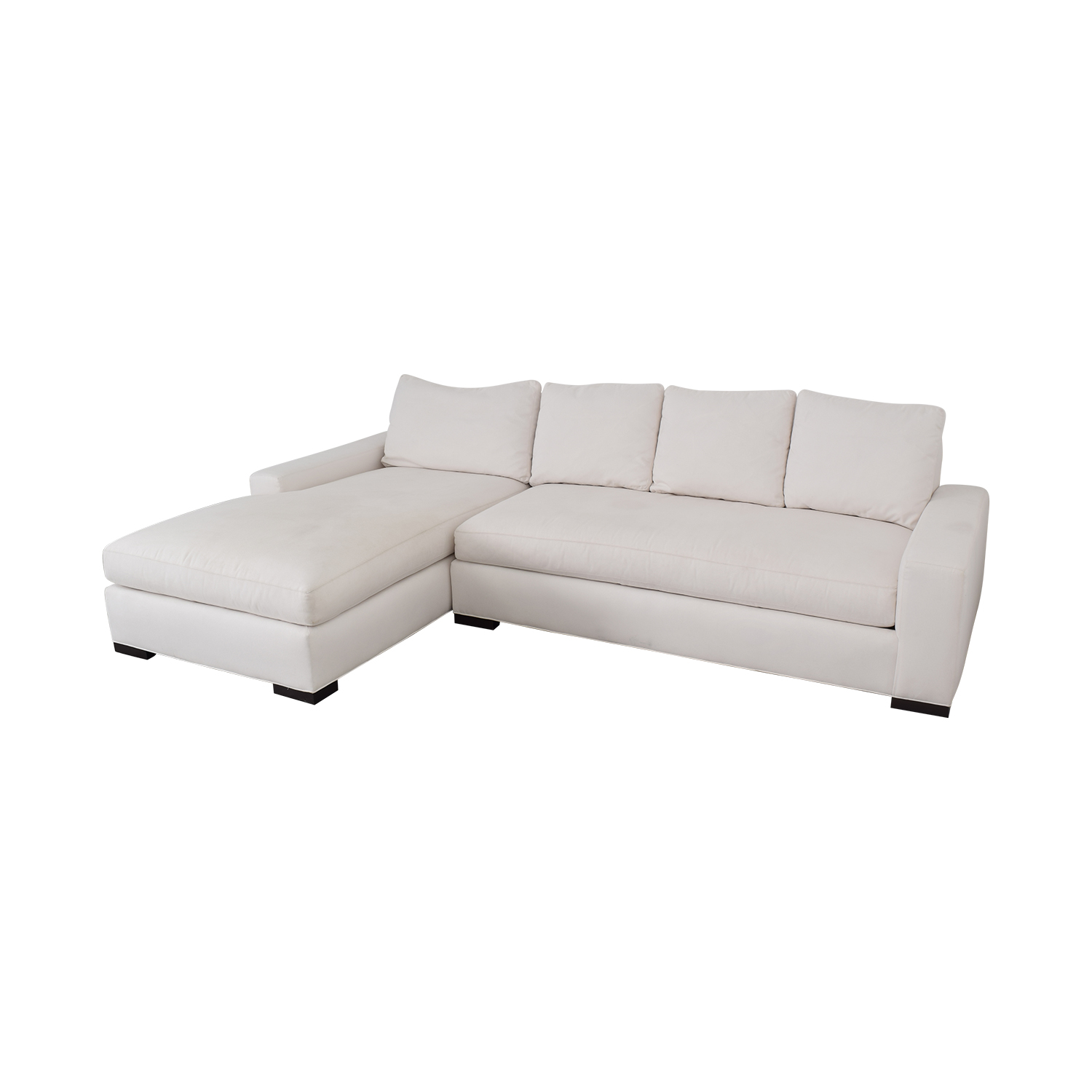 buy Williams Sonoma Sectional Sofa with Chaise Williams Sonoma Sectionals