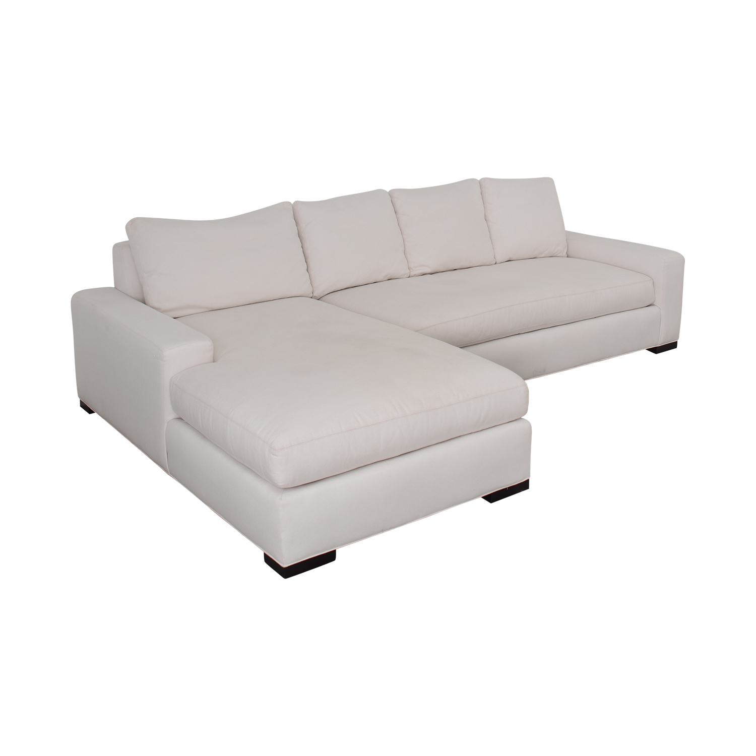 shop Williams Sonoma Sectional Sofa with Chaise Williams Sonoma Sectionals