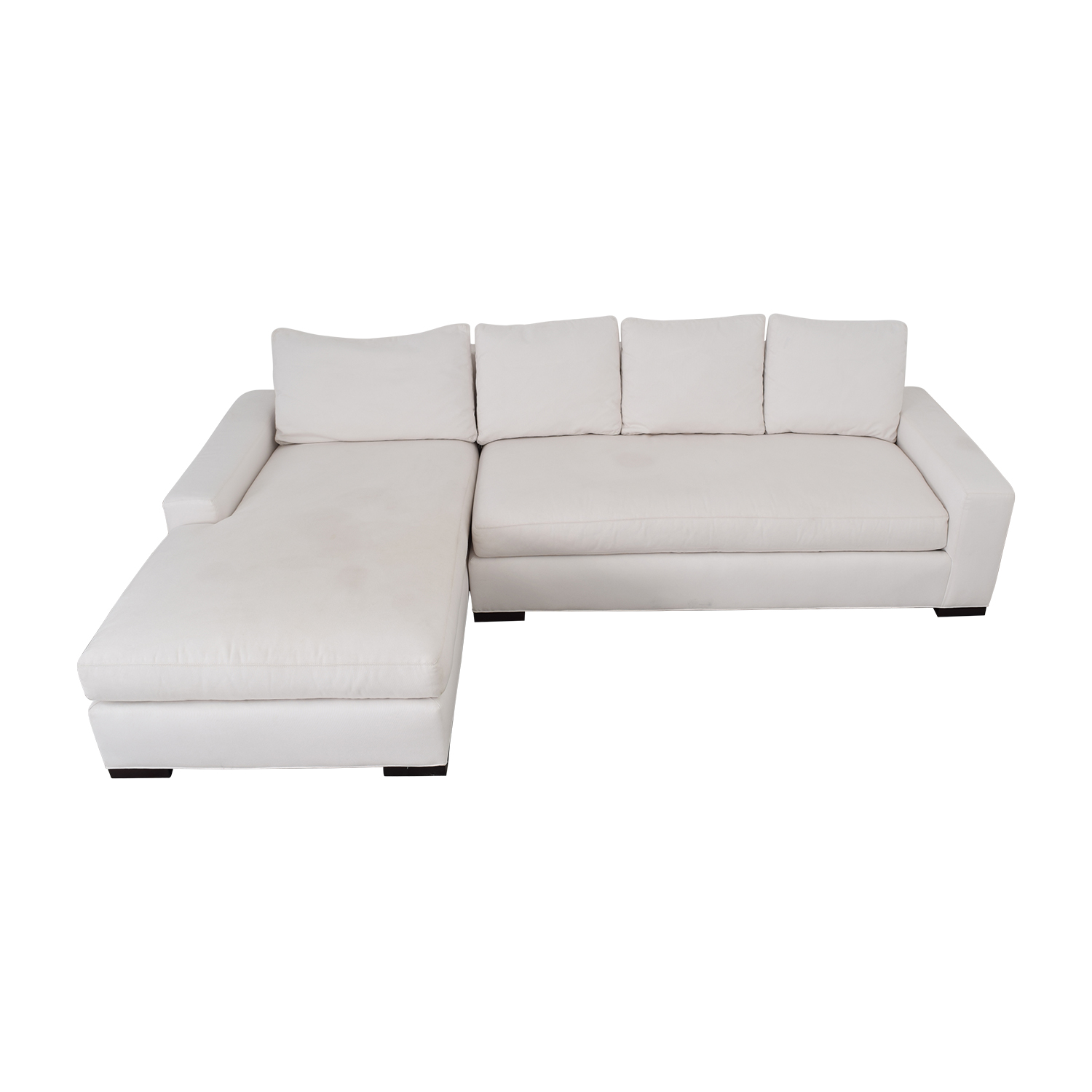 Williams Sonoma Sectional Sofa with Chaise sale