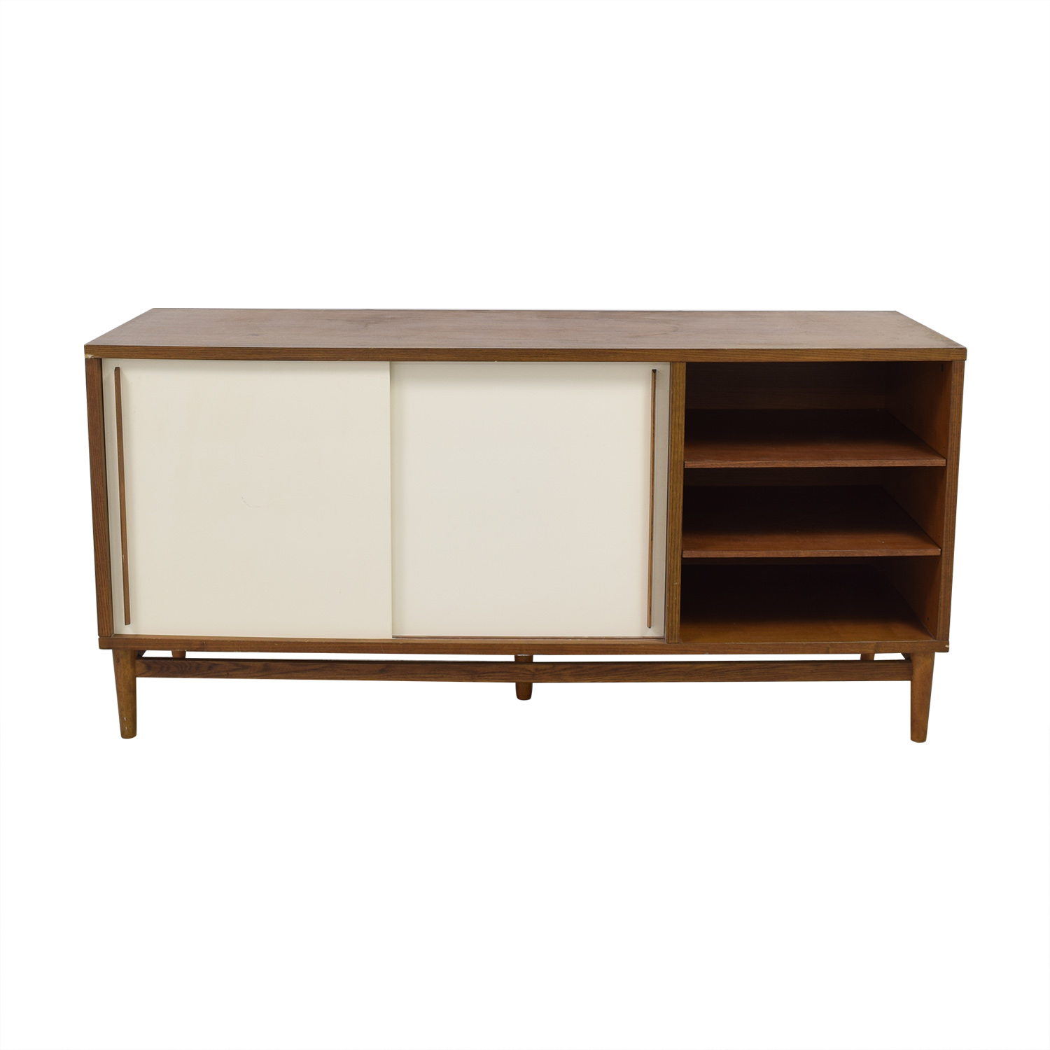 shop West Elm Modern Storage Console West Elm Storage