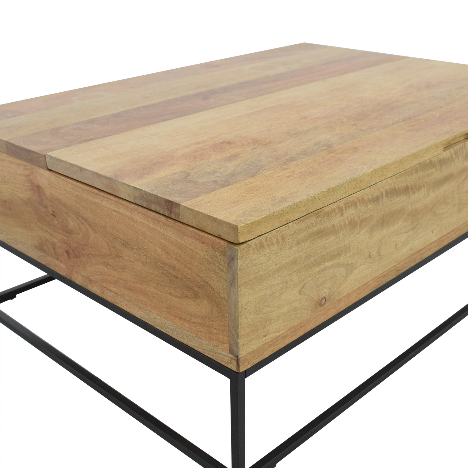 West Elm West Elm Industrial Storage Coffee Table coupon