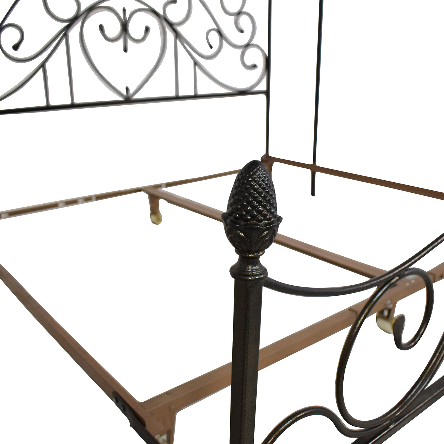 buy Custom Wrought Iron Canopy Bed  Beds
