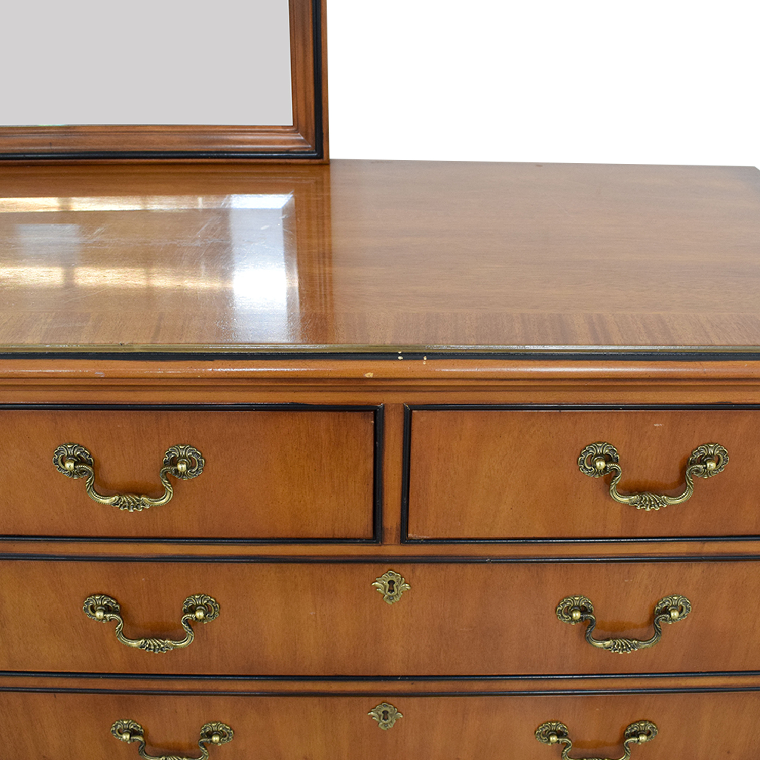Drexel Drexel Dresser with Mirror used