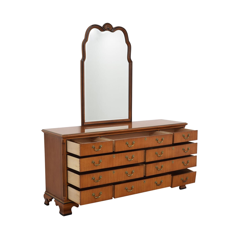 Drexel Drexel Dresser with Mirror second hand